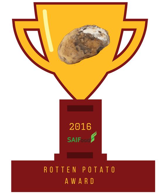SAIFood Rotten Potato Award, 2016